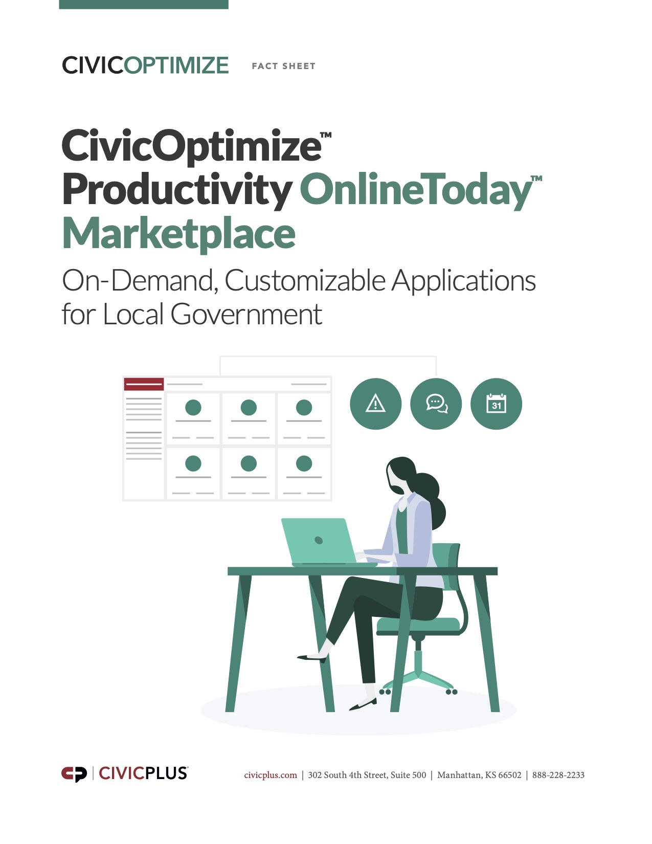 CivicOptimize Marketplace Fact Sheet
